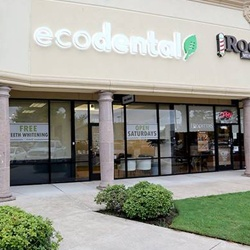 Outside view of Eco Dental Pearland